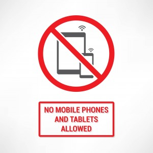 No child is allowed to use an electronic device until 16 years old