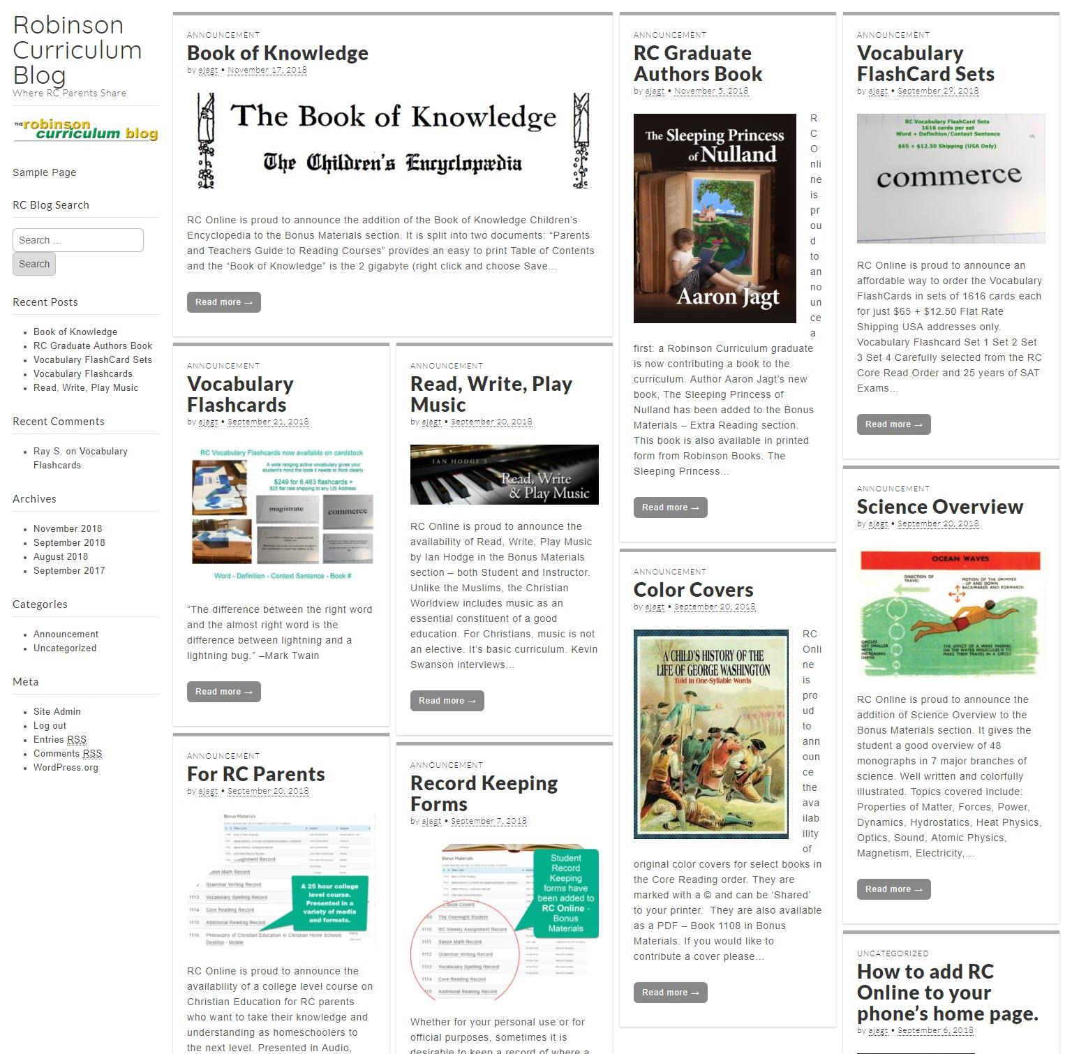 RC Online Blog